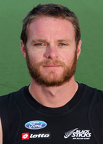 Mr Bradley Shaw, member of the BlackSticks at the 2014 Commonwealth Games in Glasgow