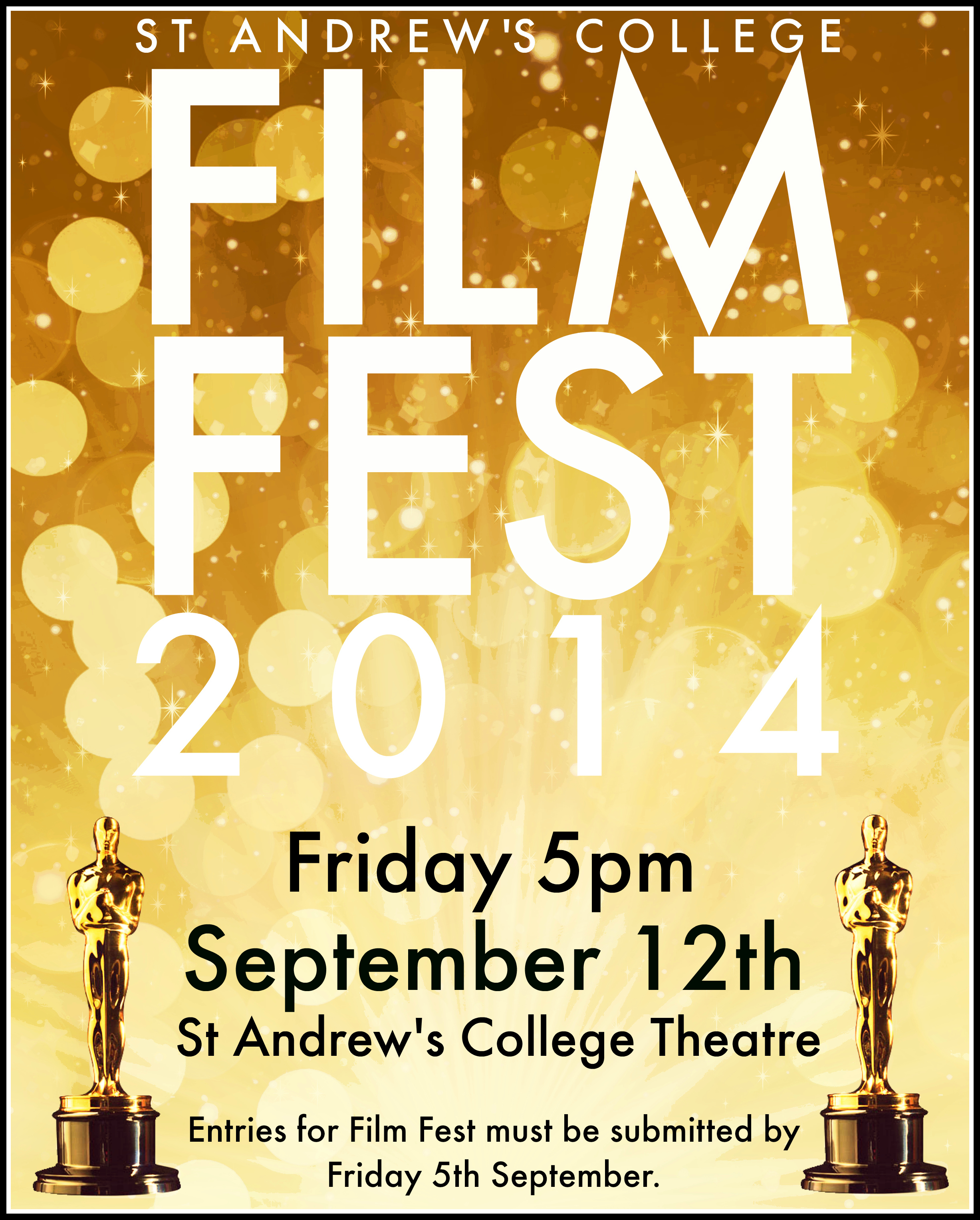 Poster Designed By Sophie Wells To Promote The 2014 Edition Of Annual St Andrews College