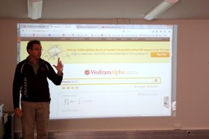 Demonstrating the power of Wolfram Alpha search