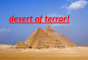 Desert of Terror
