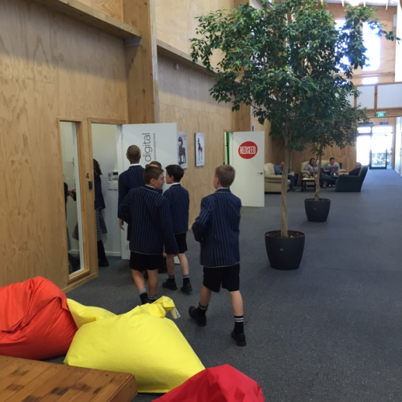 Open break out spaces similar to what is available at St Andrew's College Preparatory School